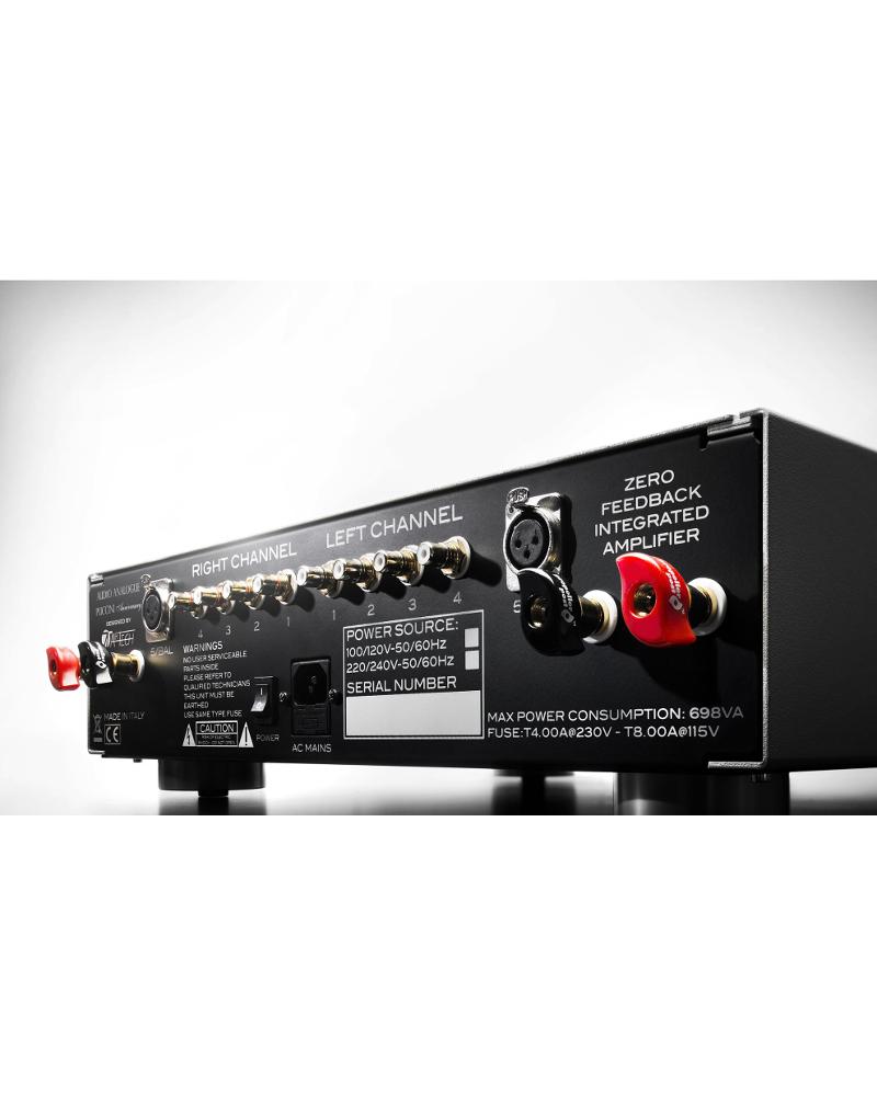 Amplificateur Intégré Audio Analogue Puccini Anniversary arrière