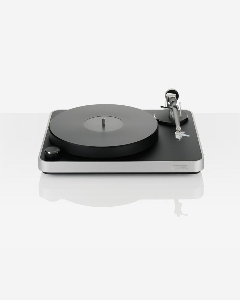 platine vinyle clearaudio concept black silver